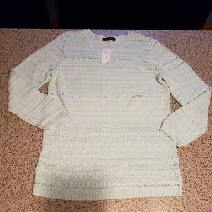 Banana Republic NWT SZ XL seafoam sweater
